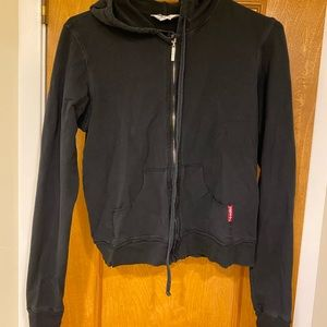 Hardtail Forever zipper jersey hooded L